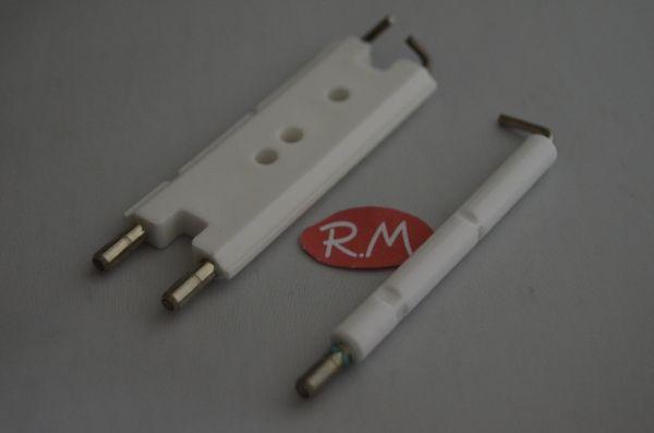Electrodo ionización + bujía caldera Junkers ZWR325 8718107050