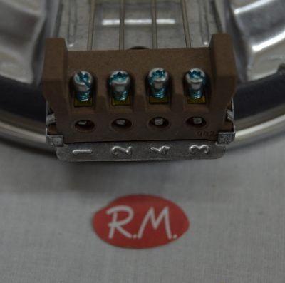 Placa blindada cocina eléctrica Ø180 mm 2000W
