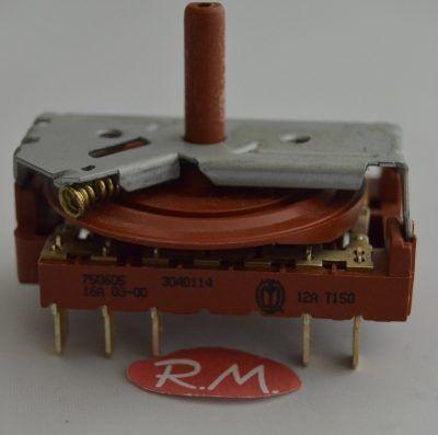 Conmutador horno Teka RT600 83040114