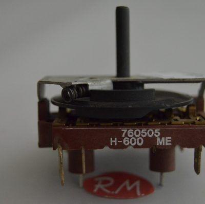 Conmutador horno Teka H600 760505