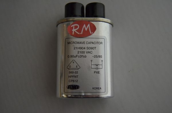 Condensador microondas 0,90uf 2100V
