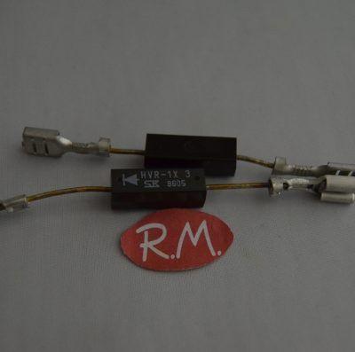 Diodo doble horno microondas HVR1*3T + ZX062H