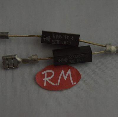 Diodo doble horno microondas HVR1*4 + 2X062H