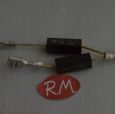 Diodo doble horno microondas HVR1*7 + 2X062H