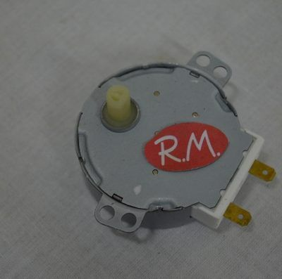 Motor giraplatos microondas