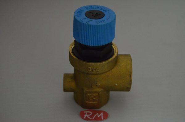 Válvula de seguridad caldera H-H 3/4 7 bar 90°