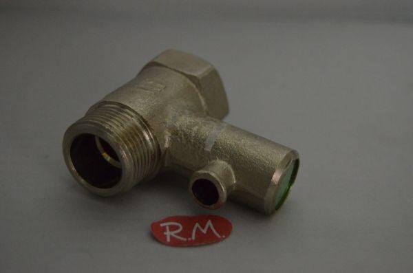 V lvula de seguridad termo el ctrico m h 3 4 10 bares 180 for Valvula de seguridad termo electrico