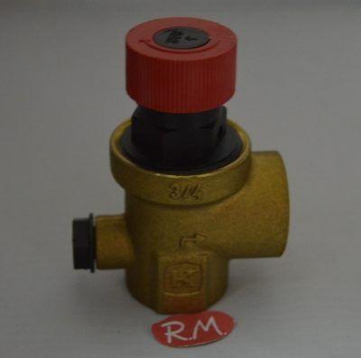 Válvula de seguridad caldera