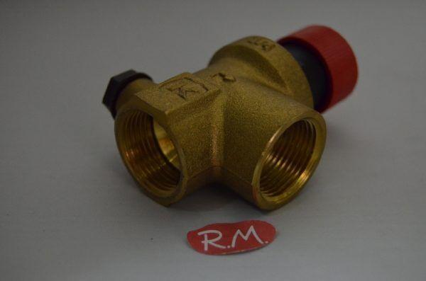 Válvula de seguridad caldera H-H 3/4 90° 3 bar