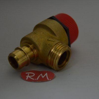 Válvula de seguridad caldera Chaffoteaux 61020933 90°