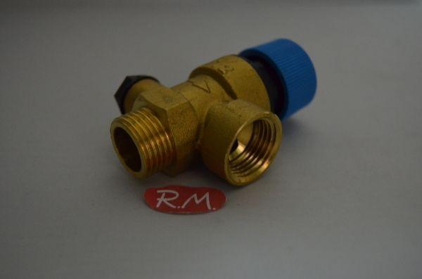 Válvula de seguridad caldera BAXI ROCA SX9950610 90°
