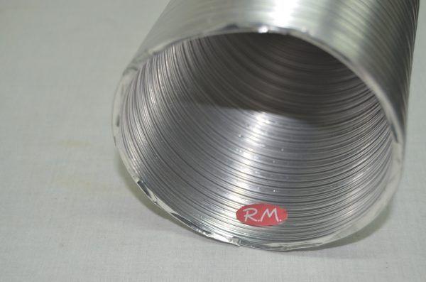 Tubo de aluminio flexible compacto