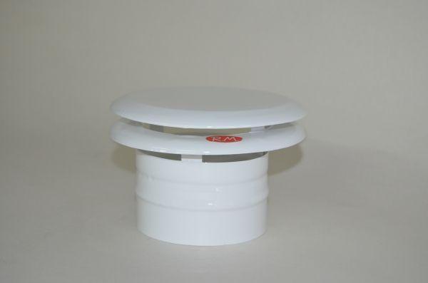 Deflector de 2 aros salida humos campana Ø 100 mm