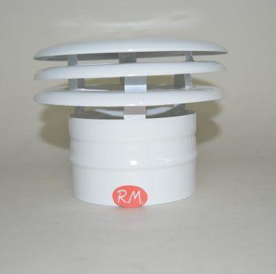 Deflector de 3 aros salida humos campana Ø 100 mm