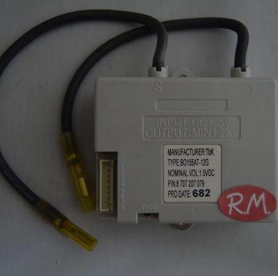 Caja de conexiones calentador Junkers W135-9 87072070790