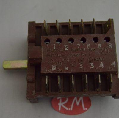 Conmutador radiador eléctrico