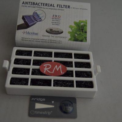 Filtro bacterias frigo Whirlpool 481248048172