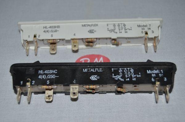 Interruptor arcón congelador vertical de 2 tecla