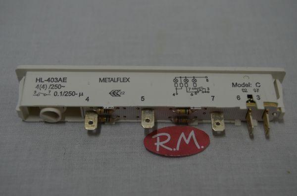 Interruptor arc n congelador vertical de 1 tecla mando - Arcon congelador vertical ...