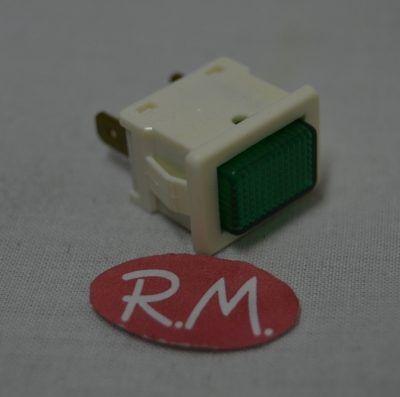 Piloto luz verde frigorífico Whirlpool 481913448298