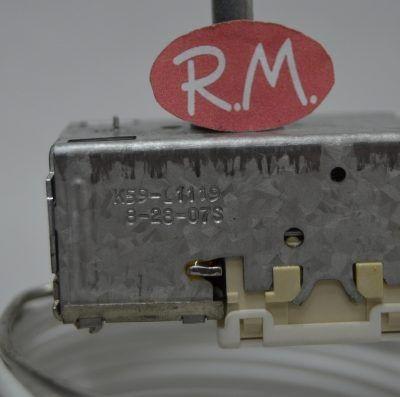Termostato conservador combi Zanussi K59L1119