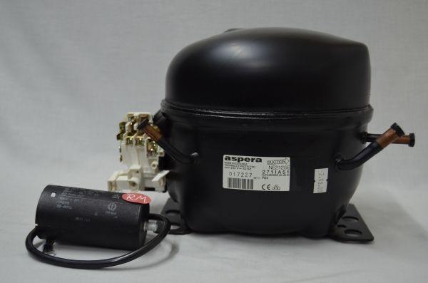 Compresor frigorífico 1/3 cv R-22 NE2125E baja