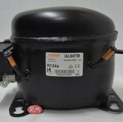 Compresor frigorífico 1/5 cv R-134 GL60TB alta