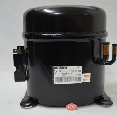 Compresor frigorífico 5/8 cv R-404 T2168GK baja