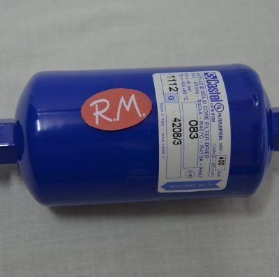 """Filtro deshidratador 130 gramos rosca de 1/4"""""""