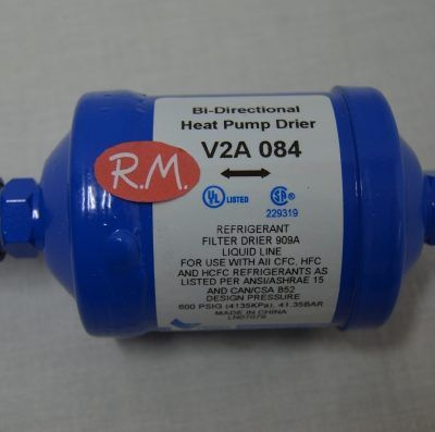 """Filtro deshidratador bi-flujo frio comercial rosca de 1/2"""""""