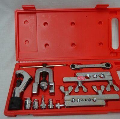 "Kit abocardador y ensanchador tubos de cobre 1/8"" a 3/4"""