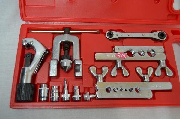 Kit abocardador y ensanchador tubos de cobre