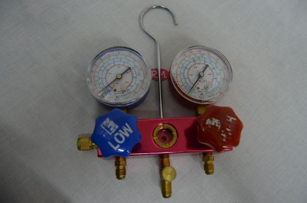 Analizador doble para R-410A R404A R407C