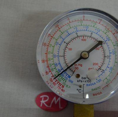 Analizador doble para R-410A