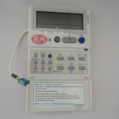 Mando control aire acondicionado LG AKB30611301