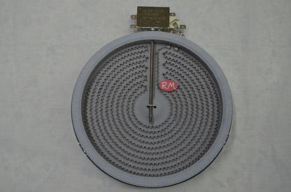 Placa vitrocerámica Ø200 mm 1800w. EGO