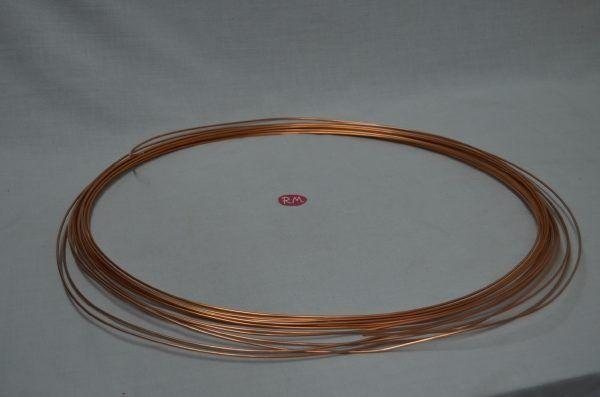 Tubo capilar frigorífico 2x0,80 mm rollo de 15m