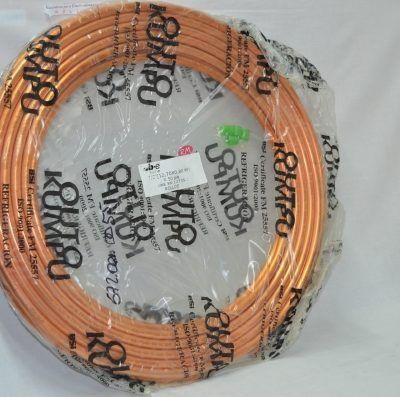 Tubo cobre frigorífico 1/2 rollo de 15m