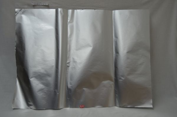 Papel adhesivo aluminio