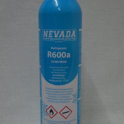 Gas refrigerante R-600a envase de 420gr