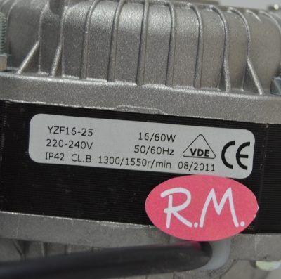 Motor ventilador cámara frigorífica