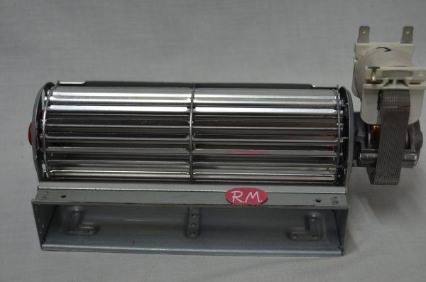 Motor ventilador tangencial derecho 180 mm