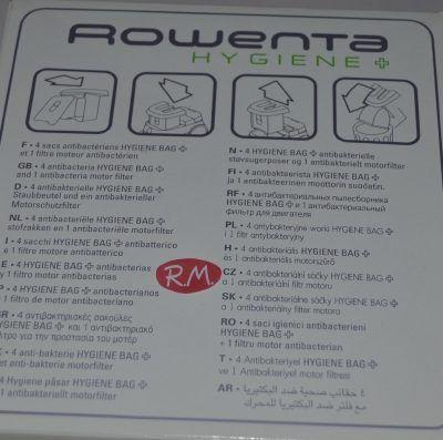 Bolsas aspirador Rowenta higiene RO602101 ZR0012