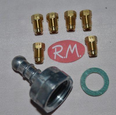 Conjunto inyectores a gas butano cocina Fagor CC1977700