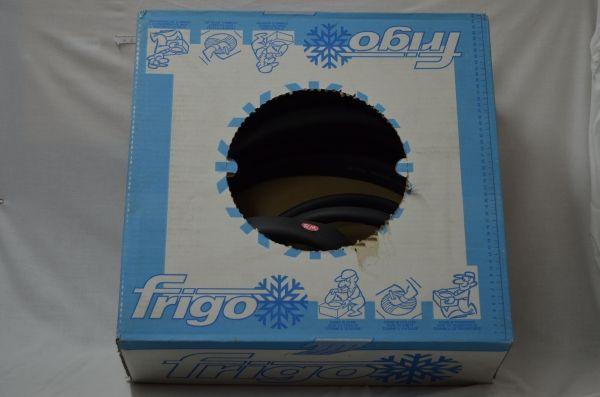 Caja coquilla aislante tubular para tubo de cobre