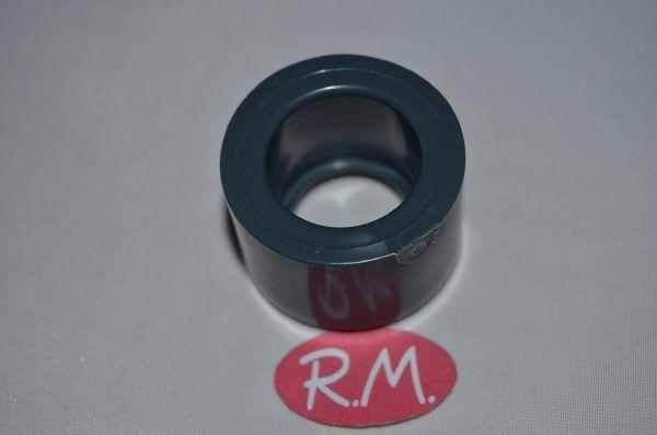 Casquillo reducido PVC gris macho 32 a hembra 20 mm