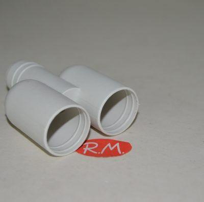 """Te """"Y"""" de Ø 20 mm para tubo desagüe"""