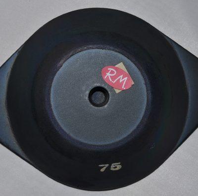 Amortiguador de caucho 214mm 75kg