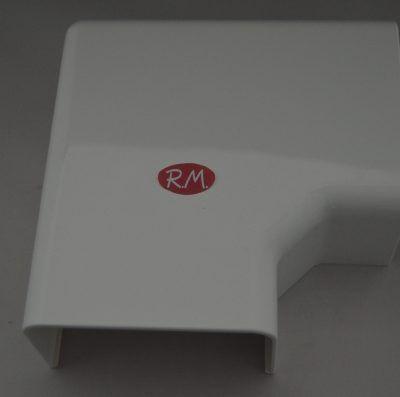 Angulo plano canaleta Quintela FAPR/610 60 x 100 mm