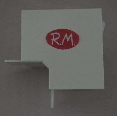 Angulo interior canaleta con tapa Escconduct 60 x 40 mm